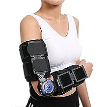 Rom con brazo de hombro Sling Forarm tirantes apoyo férula órtesis  plantillas banda Pad cinturón inmovilizador 8198487b4d9e