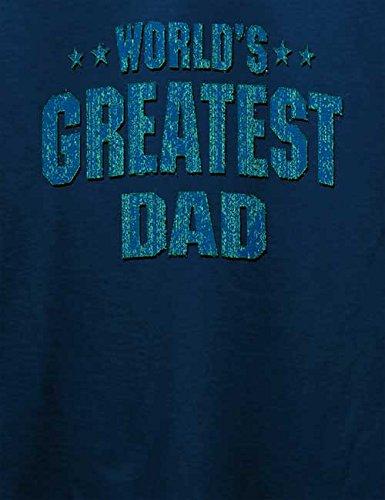 Worlds Greatest Dad T-Shirt Navy Blau