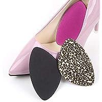 pbfone 2Paar Schwamm Vorfuß Arch Unterstützung Vorderfuß Ball von Fuß Kissen Pad High Heels Schuhe Zubehör preisvergleich bei billige-tabletten.eu