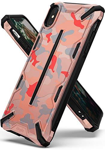 Ringke Dual-X Design Kompatibel mit iPhone XS [Camo Pink] PC TPU Dual Layer Kratzfest Schwerlast Cover Stoßfest Case Ergonomisch Robust Stylish Panzer Handyhülle für iPhoneXs Schutzhülle -