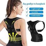 Calmare Corrección de Postura, Espalda Y Hombros Apoyo corsé Respaldo Apoyo cinturón corrección Postura para Hombres y Mujeres