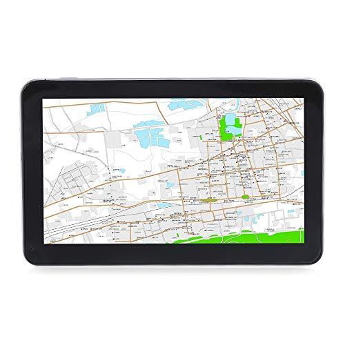 Prodotto soddisfacente 704 Navigatore GPS da 7 pollici con mappe gratuite Win CE 6.0 Touch Screen Player