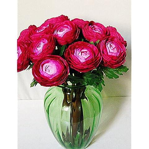 simulazione fiore artificiale Rotus rugiada Rose in