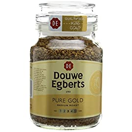 Douwe Egberts Pure Gold Instant Coffee 95 g (Pack of 6)
