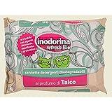 INODORINA Talco Bio toallitas de higiene del perro