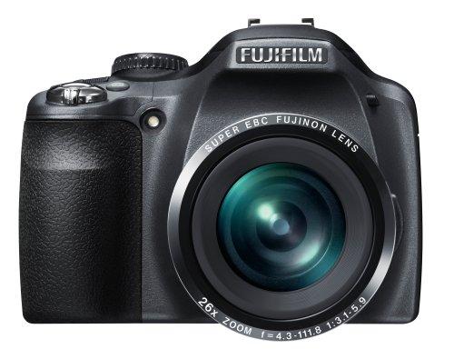 Fujifilm FinePix SL260 Digitalkamera (14 Megapixel, 26-fach opt. Zoom, 7,6 cm (3 Zoll) Display, bildstabilisiert) schwarz