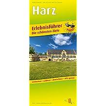 Harz: Erlebnisführer mit Informationen zu Freizeiteinrichtungen auf der Kartenrückseite, wetterfest, reißfest, GPS-genau. 1:140000 (Erlebnisführer / EF)