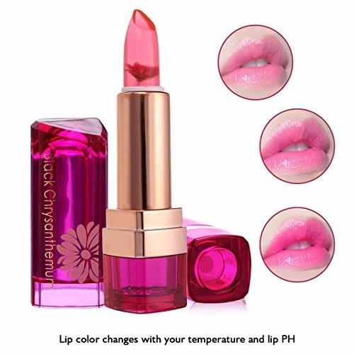 cineen professionale cambiacolore Lip Gloss Jelly Moisturizing cristallo gelatina dura a lungo Rossetto, confezione da 3