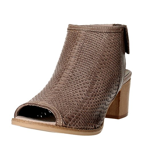 Pregunta PQ5581456-S 002 Sandalo Donna Marrone