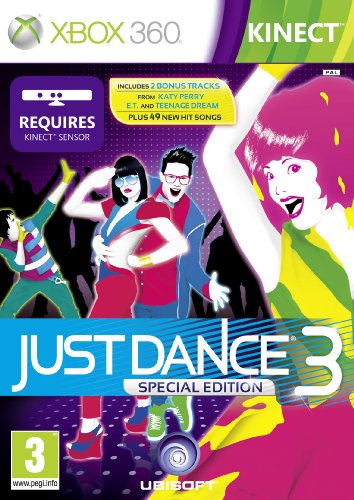 [UK-Import]Kinect Just Dance 3 Special Edition Game XBOX 360