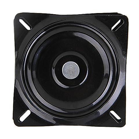 BQLZR 6 inch A3 Steel Plate Black Ball Bearing Square