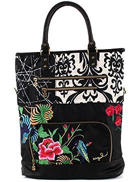 Desigual Damen Handtaschen Bols CELERINA TANIKA 61X50Y1 2000 NEGRO