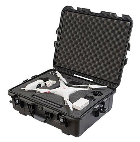 Gator GU-PHANTOM-WP Waterproof Hard Case for DJI Phantom 1 Drone (Black)