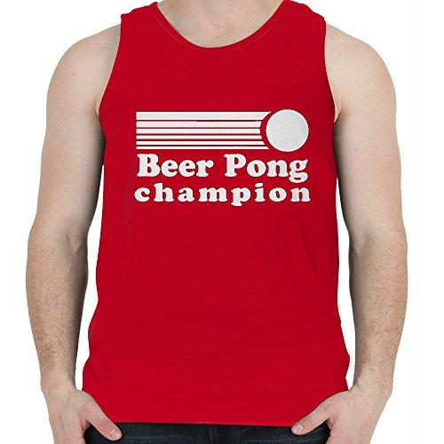 Snoogg Bier Pong Champion Baumwolle Herren Mädchen Casual Westen Sleeveless Tank Tops Camisole Beach Wear