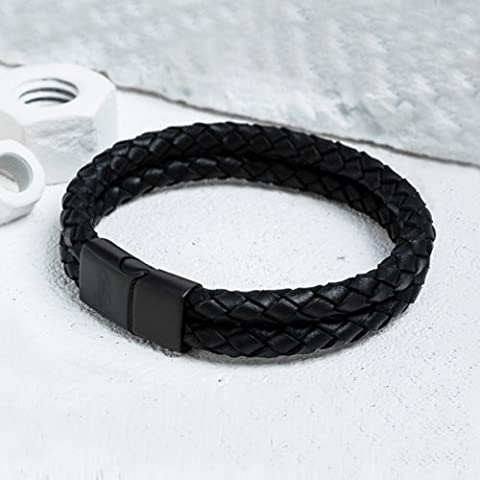 Bracelet, minimalist personality, double layer hand rope, popular couple, vintage