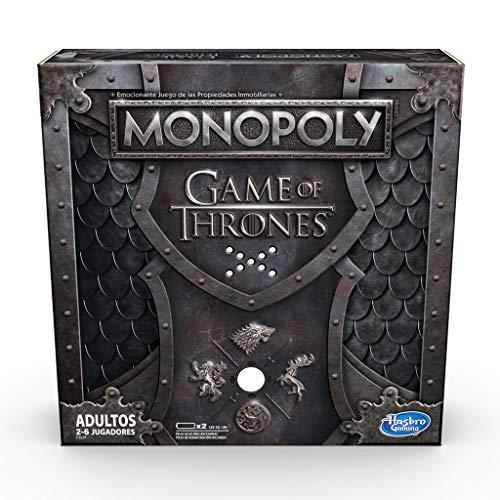 ¡El Monopoly de Juegos de Tronos ya ha llegado! Ya puedes desafiar a tus amigos a emocionantes batallas entre los 7 reinos, intenta derrotar a todos los enemigos posibles para ganar la partida. Ten cuidado al utilizar las cartas de las suerte, cada p...
