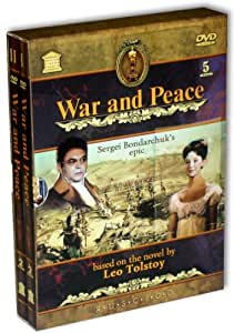 War and Peace (Vojna i mir) (RUSCICO) (5 DVD) (PAL)
