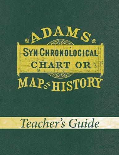 Adams Synchronological Chart or Map of History (Teacher's Guide) (Adams Geschichte Chart)
