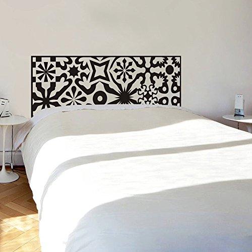 vinilo-adhesivo-para-pared-cabecero-de-cama-cabecero-geometrico-decoracion-circulo-cabecero-de-cama-