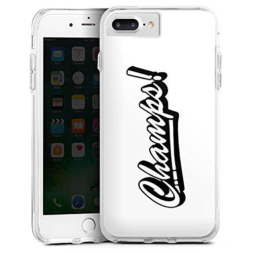 Apple iPhone X Silikon Hülle Case Schutzhülle Proownez Fanartikel Merchandise Champs Bumper Case transparent