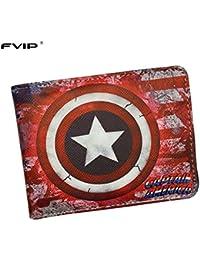 b55e49e6f SWVV Comics DC Marvel Cartera Hulk/Iron Man/Thor/capitán América/Superman