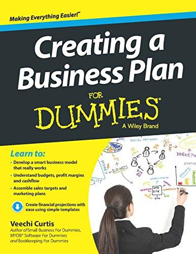 Creating A Business Plan For Dummies par Veechi Curtis