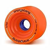 Best Cruising Skateboards - Orangatang In Heat 75 mm 80a Downhill Longboard Review