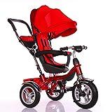 Little Bambino BW204 Kinderwagen Dreirad, rot