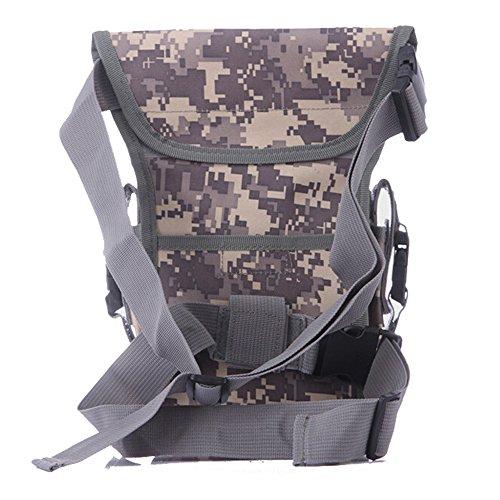 ruifu Multifunktions Outdoor Bein Tasche Utility Oberschenkel Fanny Wasserdicht Tactical Waist Pack ACU