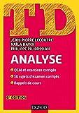 TD Analyse - 6e éd. (Mathématiques t. 1)