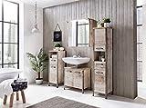 Badmöbel, Badezimmermöbel, Set, Badeinrichtung, Komplettset, Badezimmerausstattung, Spiegel,...