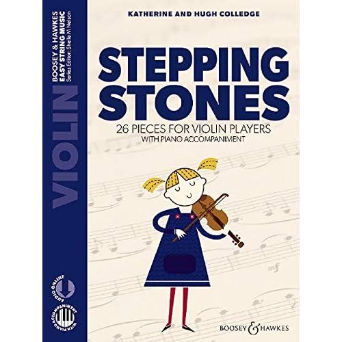 Stepping Stones. Violine und Klavier: 26 Stücke für Anfänger