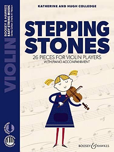 Stepping Stones: 26 pieces for violin players. Violine und Klavier. Ausgabe mit Online-Audiodatei. (Easy String Music)