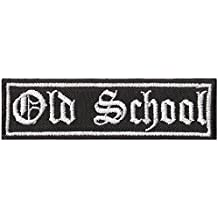 OLD SCHOOL, Classic, Motorcycle, Oltimer, Biker, Rocker, Aufnäher, Patch