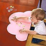 PHIFO Ein Stück rutschfestes Silikon Baby Platte & Tischset & Tischmatte & Essensmatte