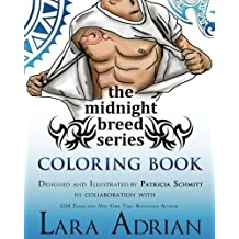 The Midnight Breed Series Coloring Book by Lara Adrian (2016-09-07)
