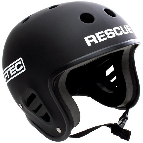 Pro-Tec Helm Full Cut Rescue, Matte Black, XS, 118139002