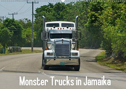 Monster Trucks in Jamaika (Wandkalender 2020 DIN A2 quer): Die Straßen von Jamaika und die großen Trucks. (Monatskalender, 14 Seiten ) (CALVENDO Mobilitaet) (Monster-truck-kalender)