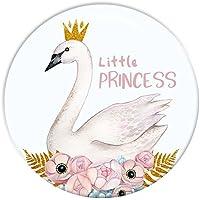 Polarkind großer Kühlschrankmagnet Little Princess Geschenk zur Geburt Taufe Geburtstag mit Wunschgröße 38mm oder 59mm handmade Magnet
