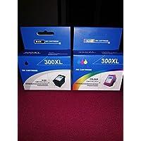 Prestige Cartridge HP 300XL Cartucce d'Inchiostro Compatibile per Stampanti HP
