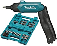 Makita DF001DW 3.8V Lithium-ion Cordless Screw Driver with Bits