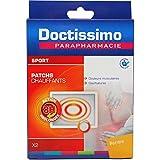 Doctissimo - patchs chauffants contre les douleurs musculaires et les courbatures, 2 patchs...