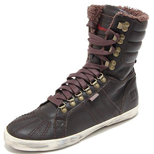2741I sneakers uomo marrone D.A.T.E. hut scarpe shoes men Marrone