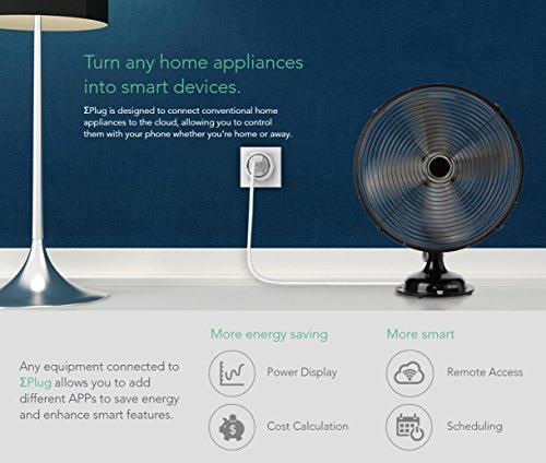 Sigma Casa Smart Power Kit – Einstieg für Smart-Home Haus-Automatisierung mit Smart Gateway und 2x Smart Power Plug – intelligente Steckdose (Messung Energieverbrauch) als Zeitschaltuhr oder zur Fern-Steuerung Ihrer Haushaltsgeräte - 3