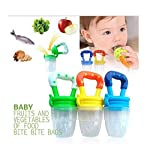 Q4U New Baby Dummy Pacifier Fresh Food/Fruit Feeder Feeding Nipple Weaning Teething Nipple Teat Pacifier Teether Soother