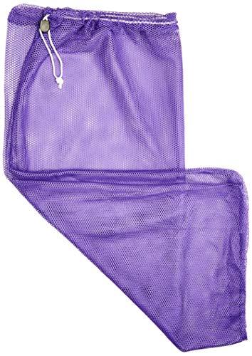 BSN Sports Heavy Duty Mesh Equipment Bag, SNBCNETP, violett