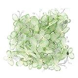 50St. Schmetterlinge Deko für Hochzeit- grün