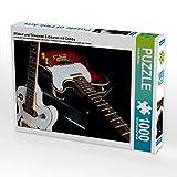 E-Gitarren mit Combo 1000 Teile Puzzle quer