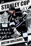 2014 Los Angeles Kings Justin Williams Stanley Cup - MVP Poster Print (60.96 x 91.44 cm)