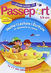 Passeport - De la grande section au CP - 5/6 ans